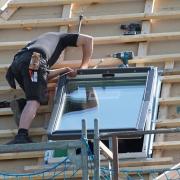 Aménagement d'une fenêtre de toit