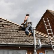Réfection d'une toiture abîmée