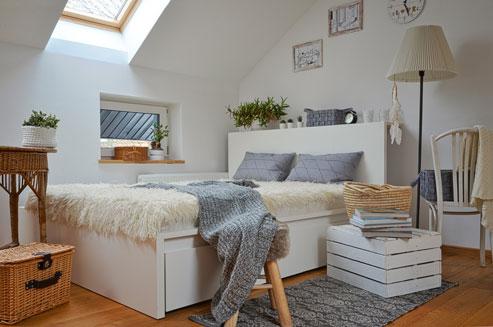 Comment aménager une chambre dans les combles ?