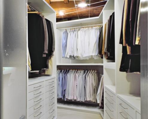 Conseils pour aménager un dressing sous combles
