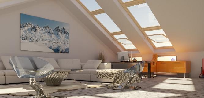 Coût d'aménagement de combles de 60 m²