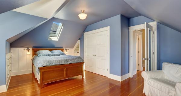 Techniques d'aménagement de chambre sous combles